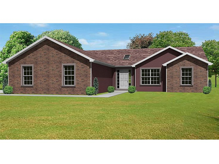 Affordable House Plan, 048H-0003