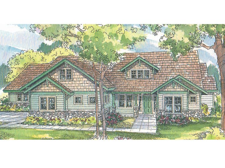 Northwestern House Plan, 051H-0098