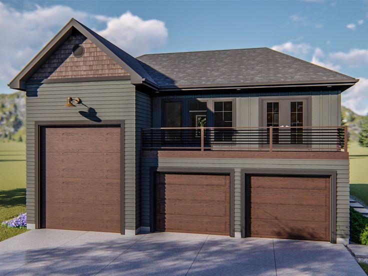 Garage Apartment Plans | RV Garage Apartment Plan # 050G ... on ranch home with pool, ranch home with front courtyard, ranch home with carport, ranch home with driveway, ranch home with 2 car garage, ranch home with 3 car garage, ranch home with bonus room, ranch home with porch,