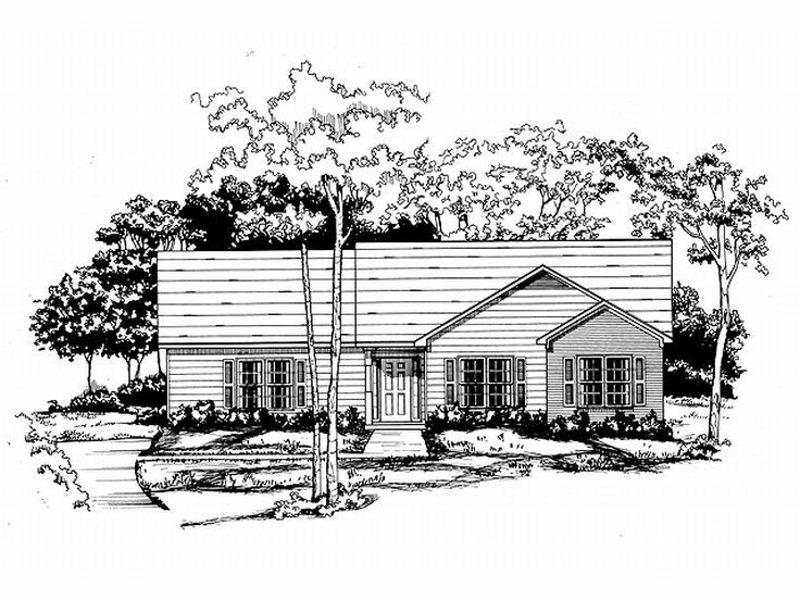 Small House Plan, 019H-0030