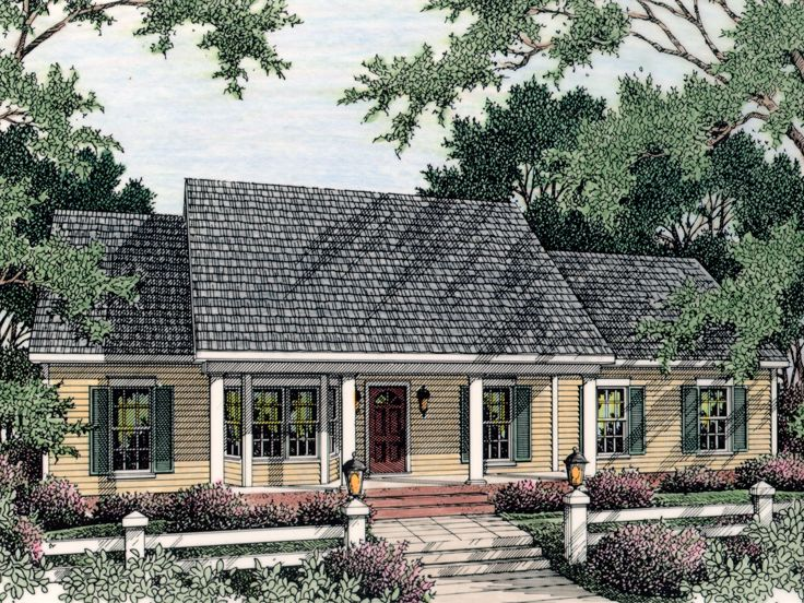 Affordable Home Plan, 042H-0027