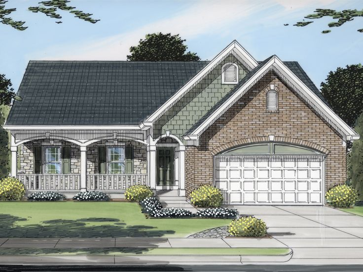Plan 046h 0126 find unique house plans home plans and for Small empty nester home plans