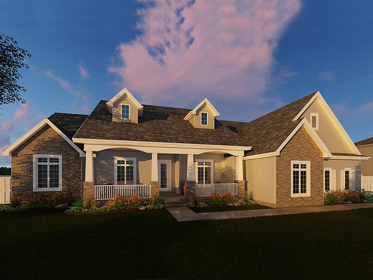 Country House Plan, 050H-0075
