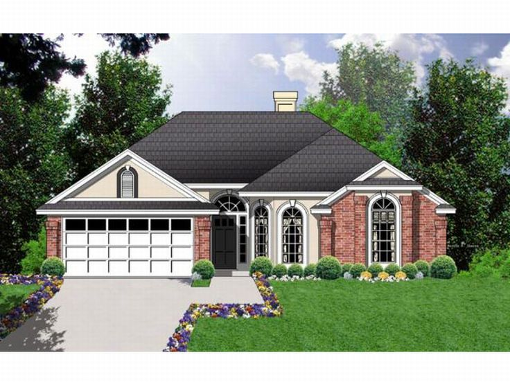 One-Story Home Plan, 015H-0057