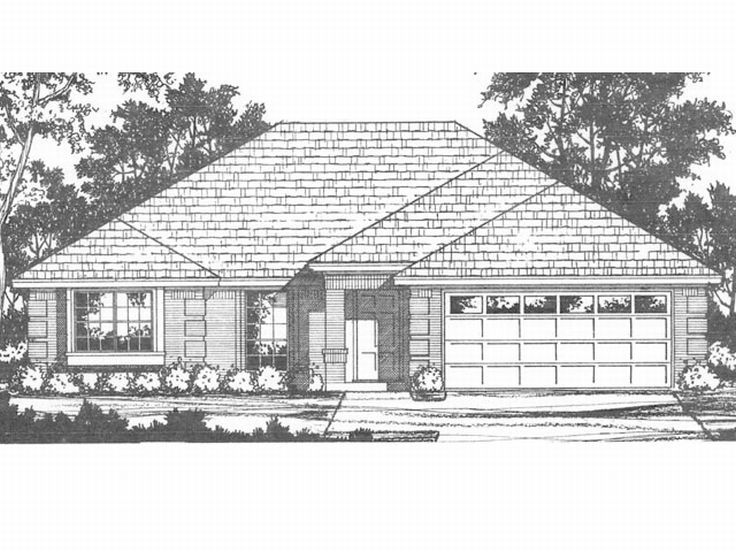 Affordable Home Plan, 015H-0023