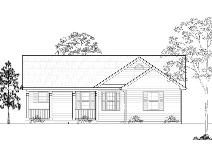 Small House Plan, 055H-0008