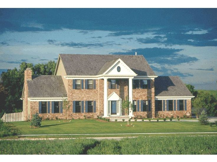 Colonial Home Plan, 031H-0065