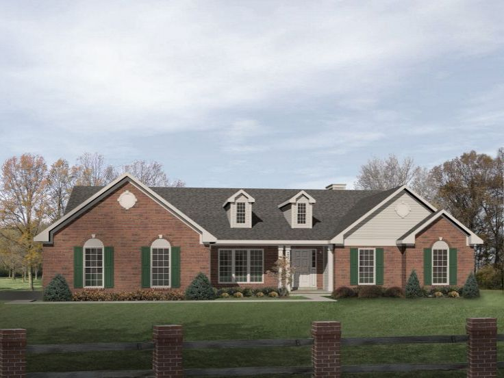 One-Story Home Plan, 005H-0024