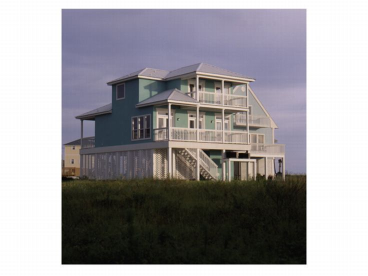 Beach Home, Rear, 017H-0033