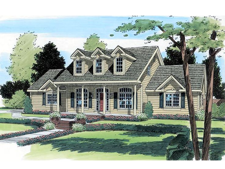 Country Home Plan, 047H-0021