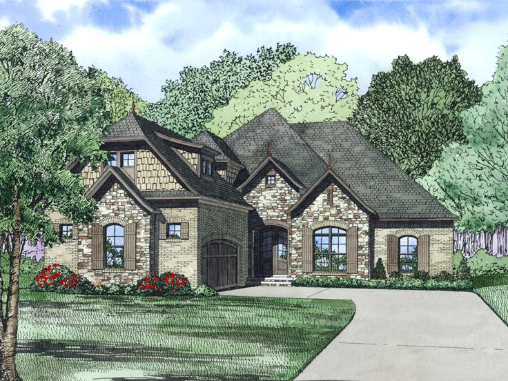 European Home Plan, 025H-0315