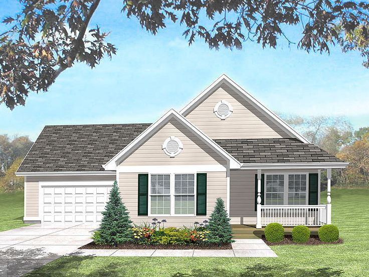 Traditional House Plan, 016H-0050