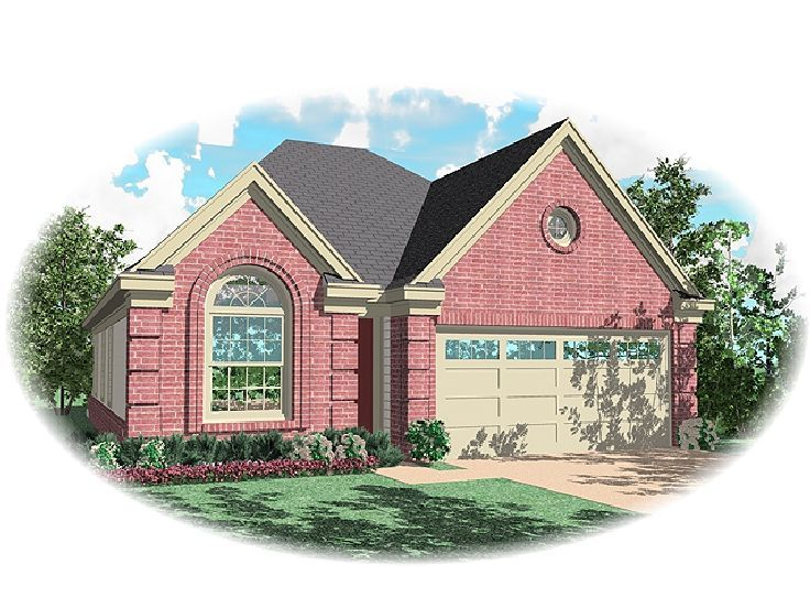 Narrow Lot Home Plan, 006H-0041