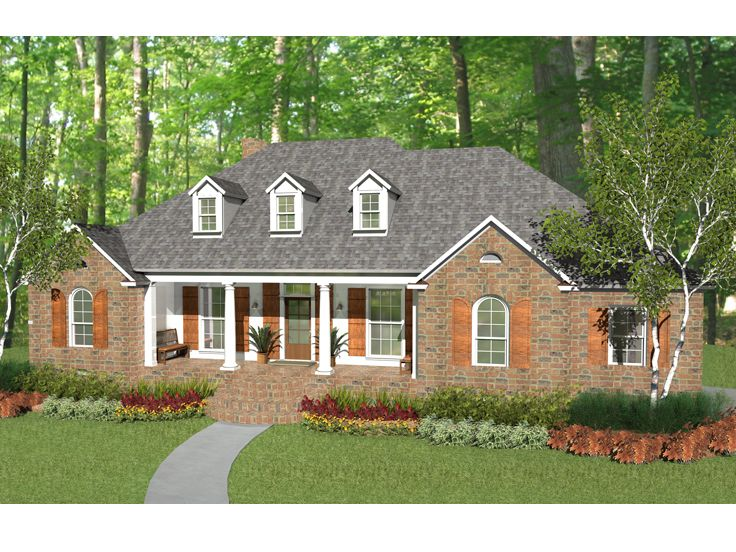 Ranch Home Plan, 042H-0012