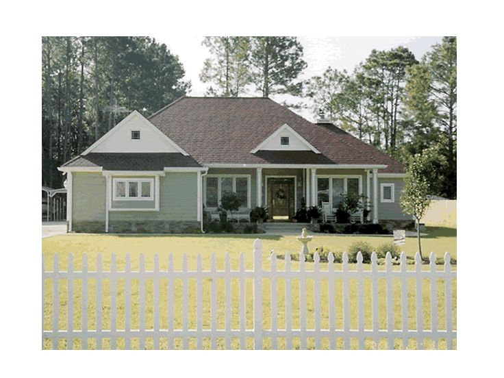 Country Ranch House, 059H-0051
