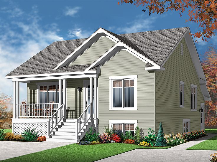 Multi-Family Home Plan, 027M-0050