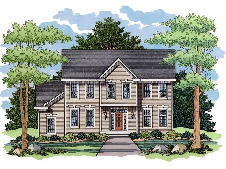 Historical House Plan, 023H-0108