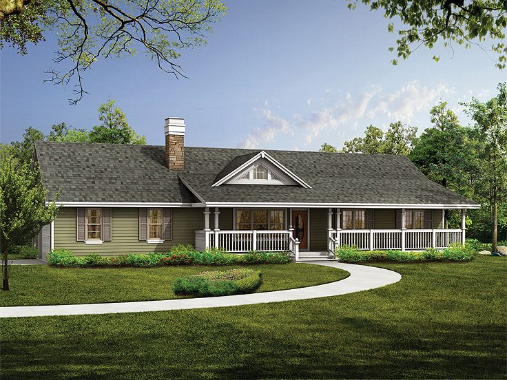 Country House Design, 032H-0062