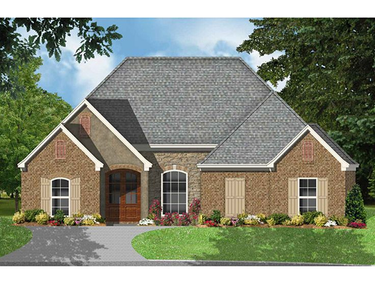 Ranch Home Design, 060H-0024