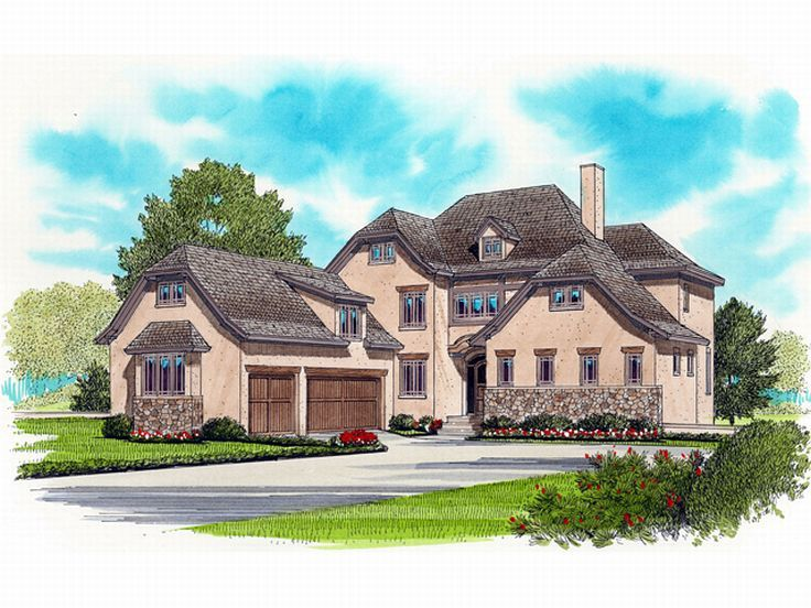 European Home Plan, 029H-0094