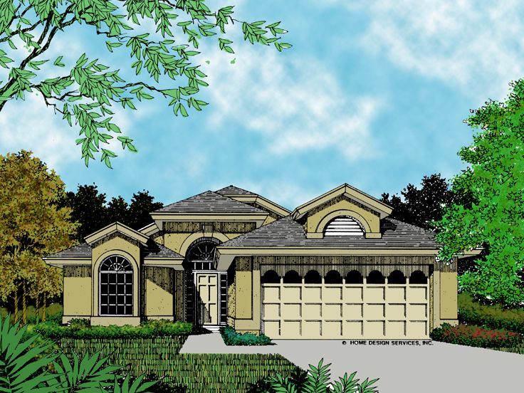 Florida House Plan, 043H-0030