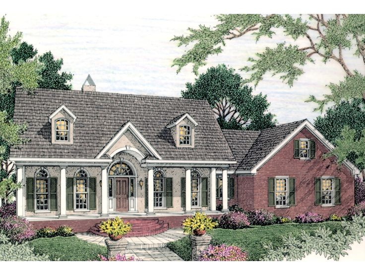 Southern ranch house plans house design plans for Southern style ranch home plans