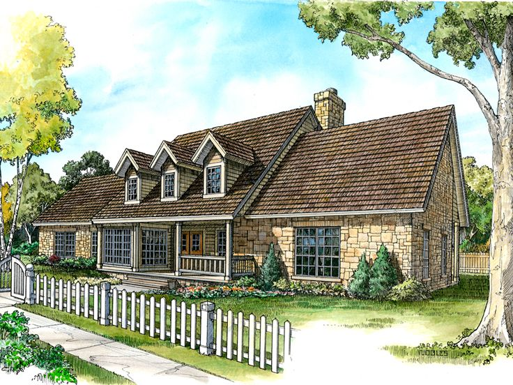 Country Home Plan, 008H-0005