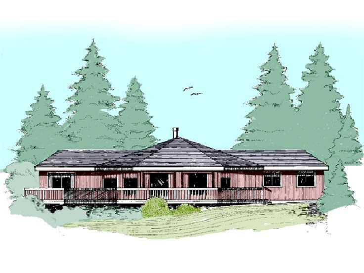 Unique House Plan, 013H-0049