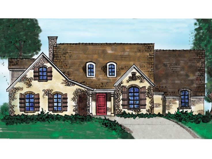 European Home Plan, 054H-0001