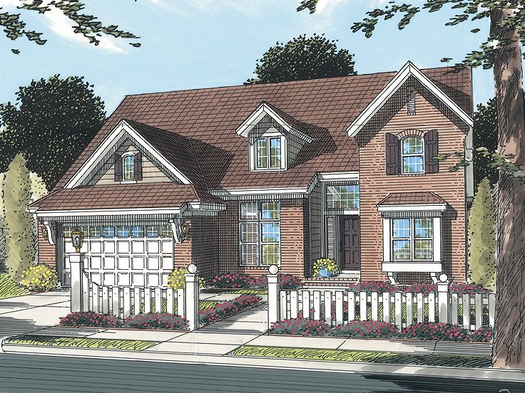 2-Story Family Home, 059H-0101
