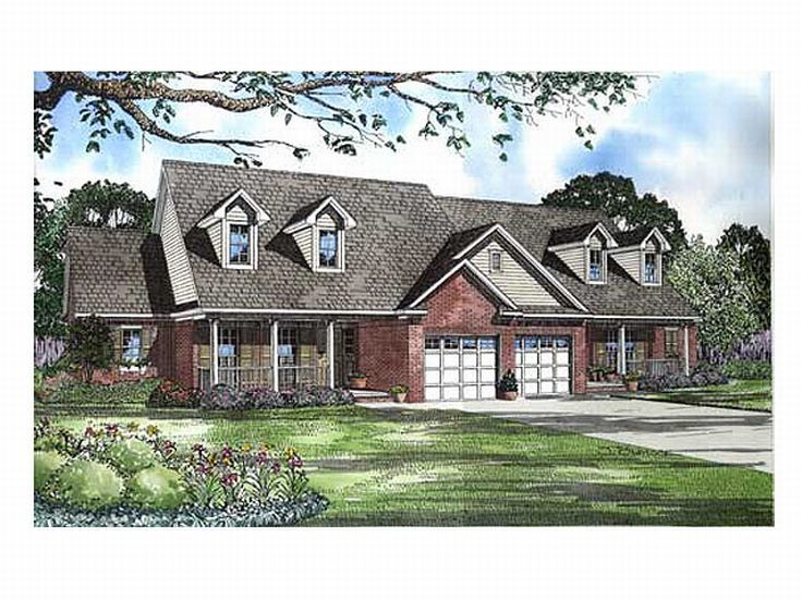 Multi-Family Home Plan, 025M-0050