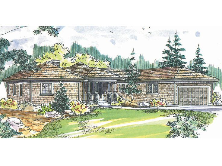 Contemporary Home Plan, 051H-0012