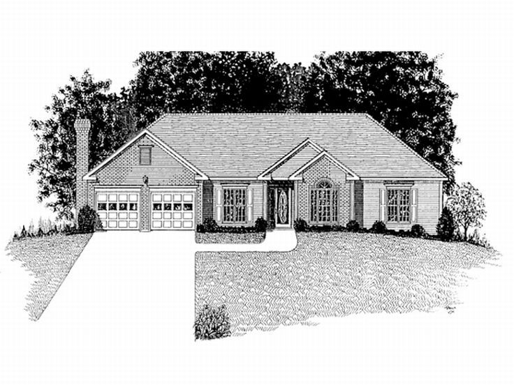 1-Story Home Plan, 007H-0036