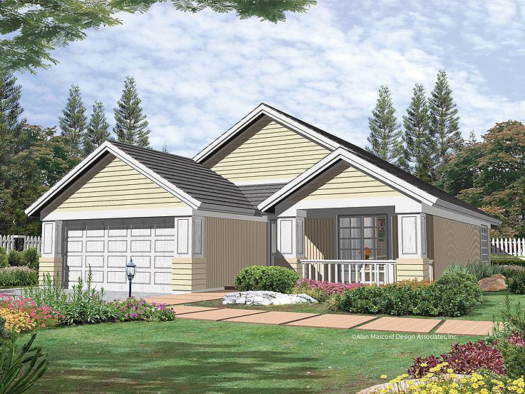 One-Story House Plan, 034H-0192