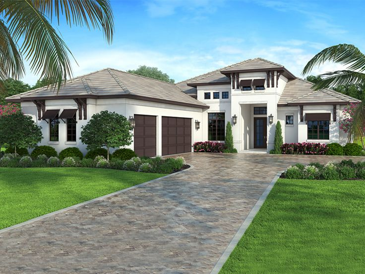 Sunbelt House Plan, 069H-0007