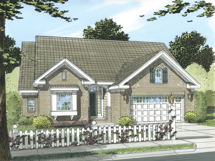 Affordable Home Plan, 059H-0096