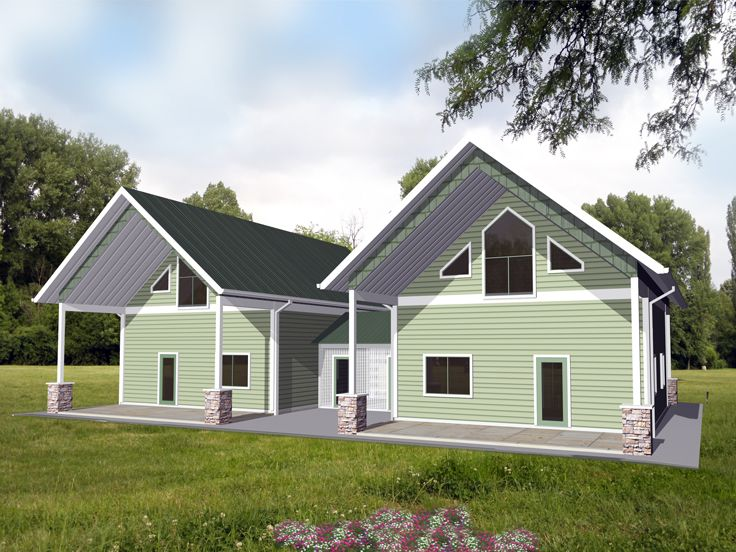 Duplex Home Design, 012M-0006