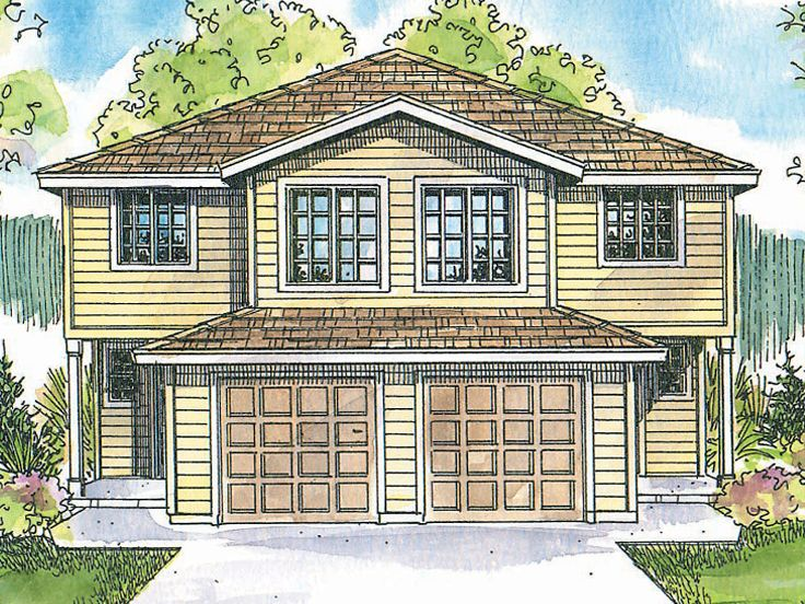 Plan 051m 0016 find unique house plans home plans and Unique duplex plans
