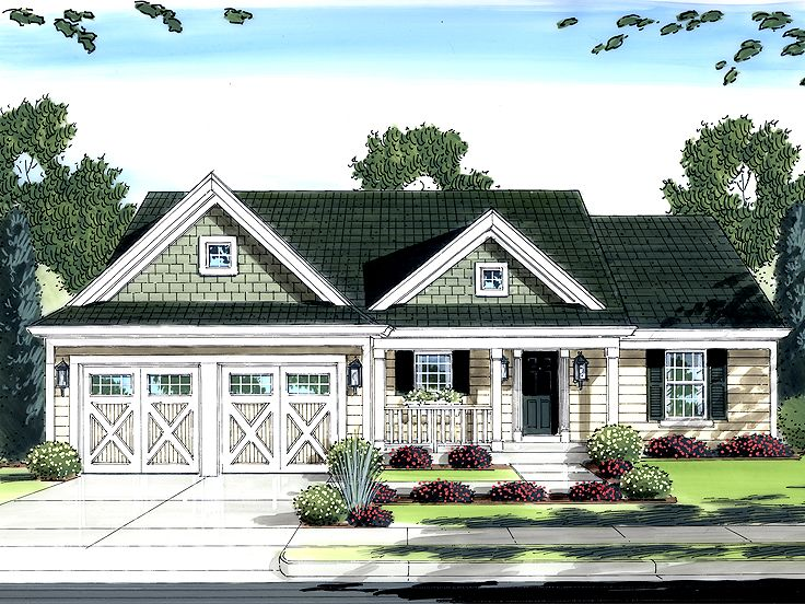 One-Story House Plan, 046H-0031