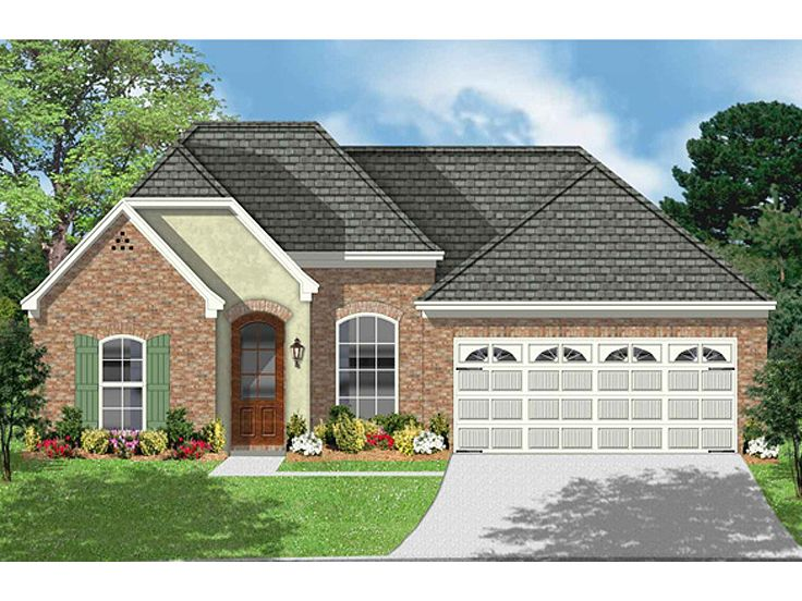 European House Plan, 060H-0012