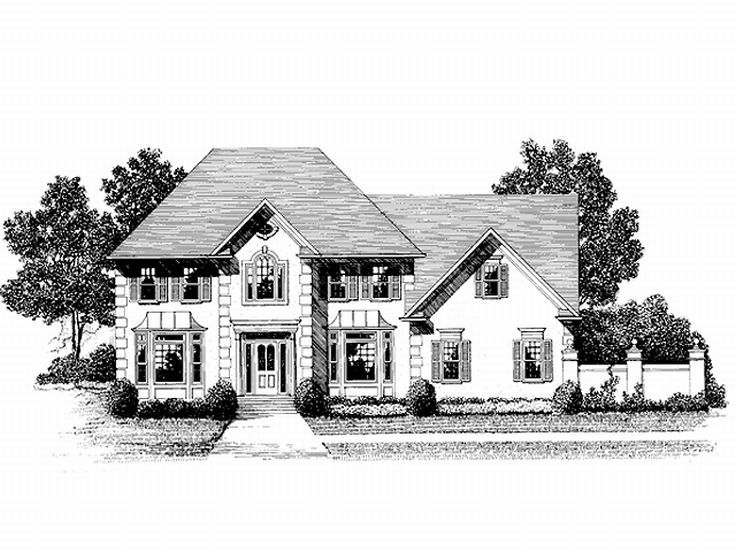 Luxury House Plan, 007H-0100