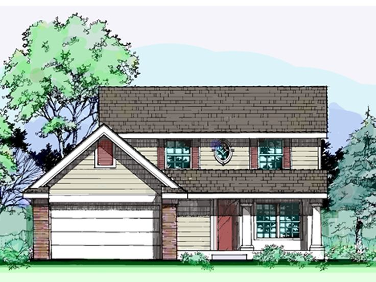 Traditional Home Plan, 022H-0086