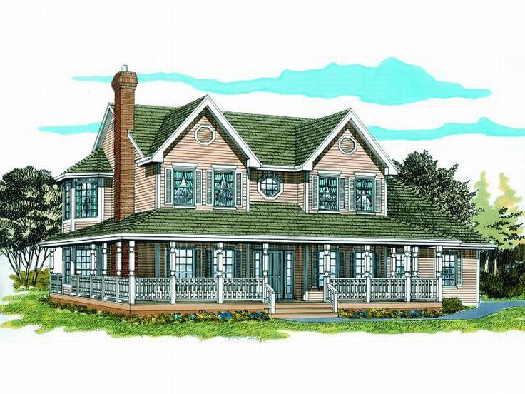 Country House Plan, 032H-0043