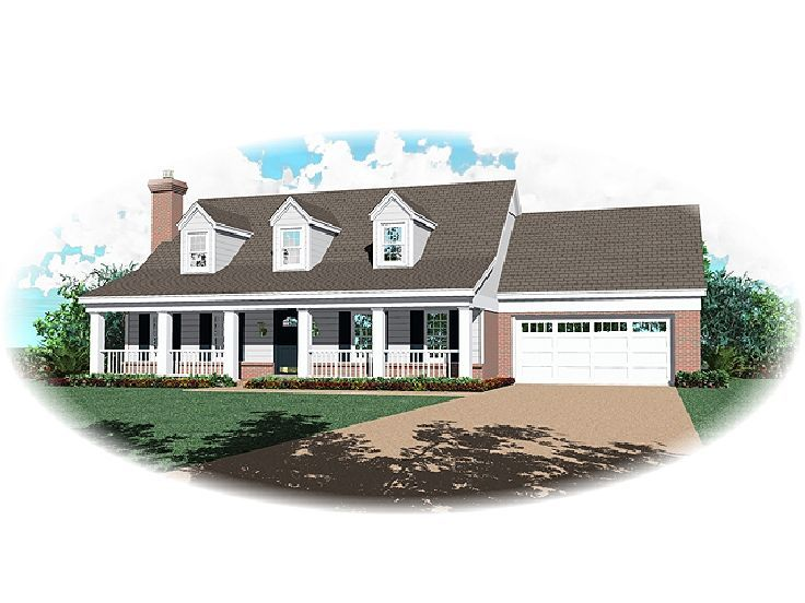 Country House Plan, 006H-0027