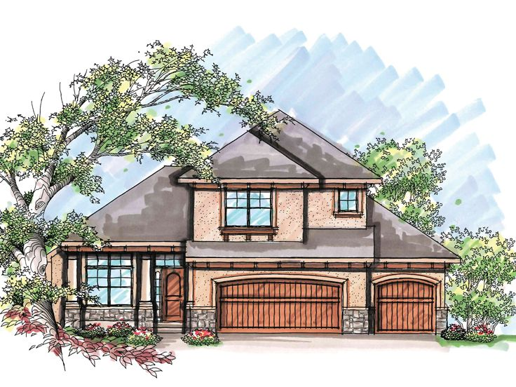 Sunbelt House Plan, 020H-0206