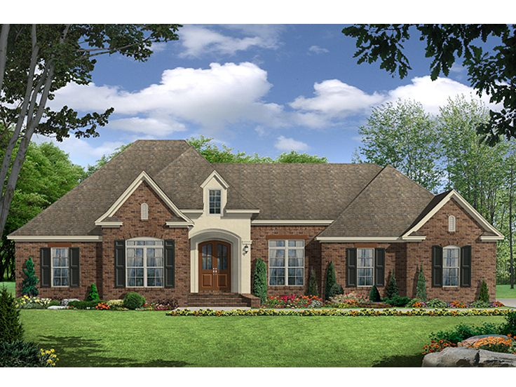Traditional Home Plan, 001H-0191