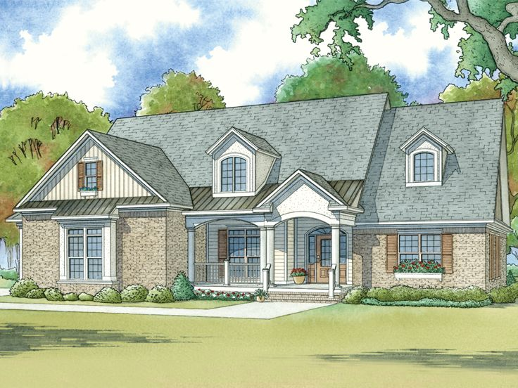 Family House Plan, 074H-0054