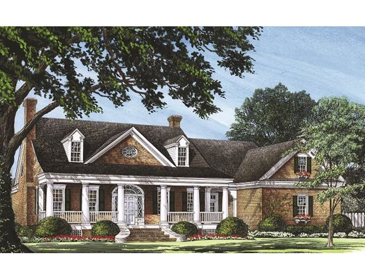 Luxury House Plan, 063H-0050