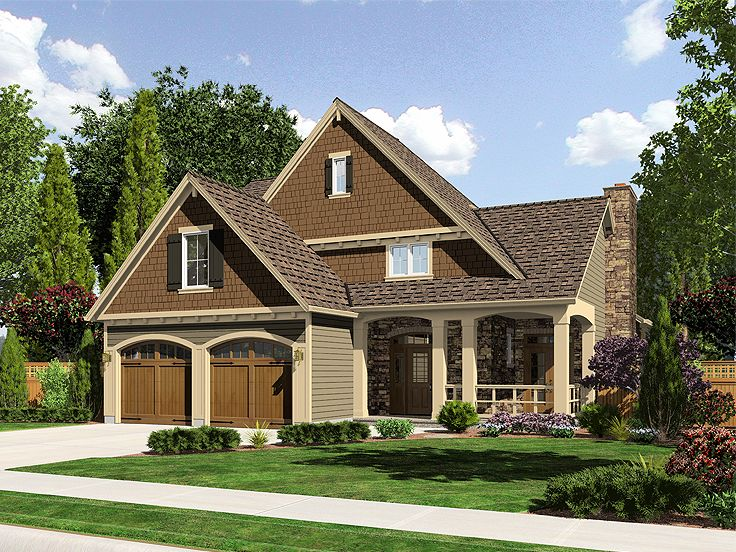 Craftsman Home Plan, 046H-0007