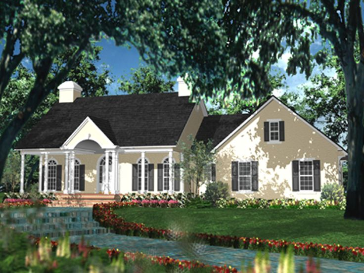 Southern Home Design, 042H-0019